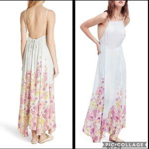 NWT Free People Embrace it Backless Maxi Dress